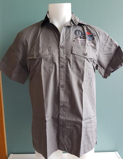 button-shirt-back-blue-car-34th-anniv
