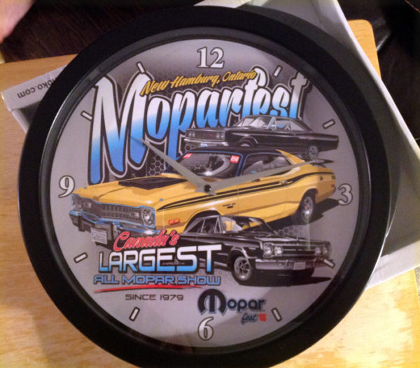 Moparfest Clock