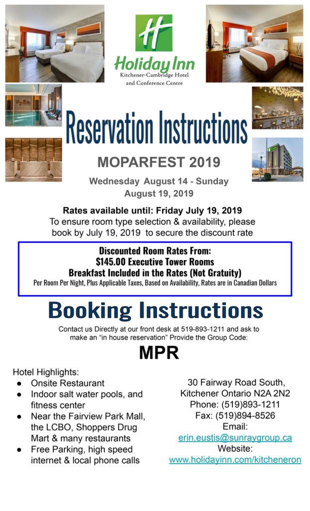 Hotels & Camping – Moparfest